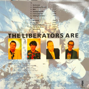 Achterkant The Liberators album