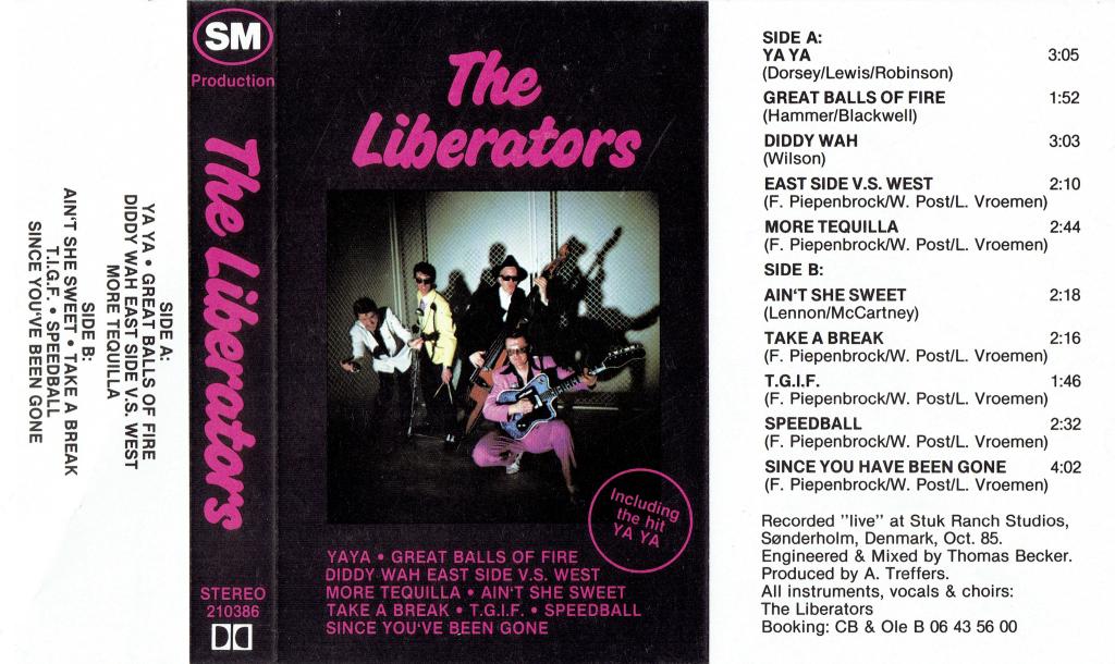 Liberators cassette