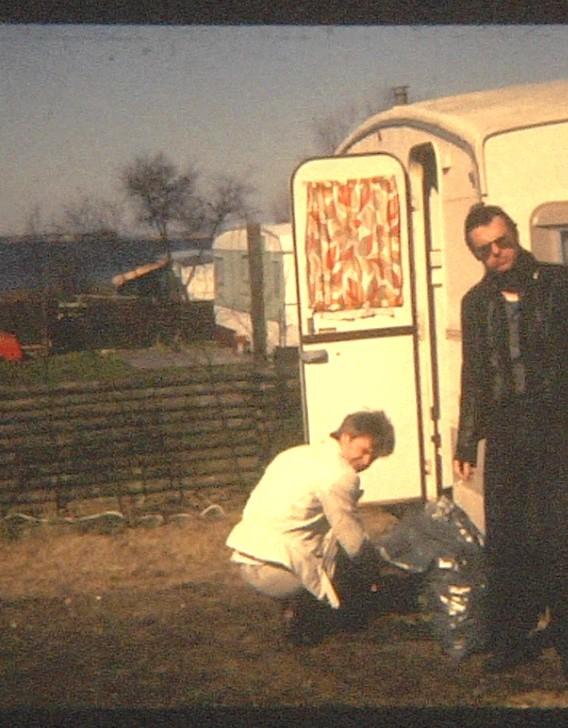 1ste tour in Denemarken, met de caravan